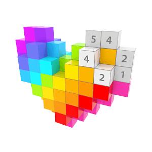 скачать игру Voxel 3d раскраска книжки на андроид
