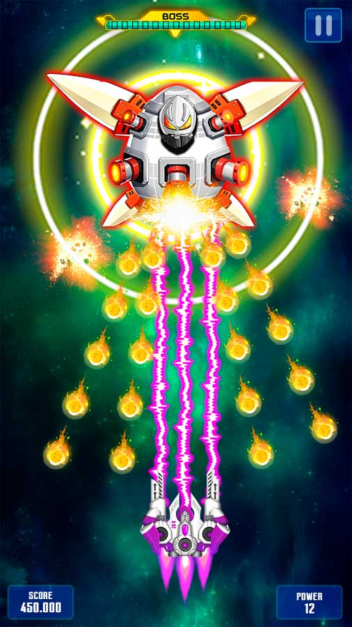 galaxy space shooter - 450×802