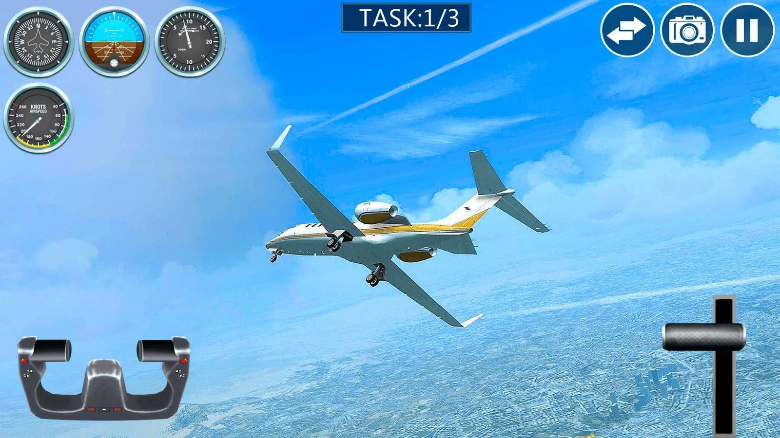 Скачать игру самолет: настоящий симулятор полета на андроид.