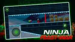 Ninja Toy Shooter - Ninja Go Feast Wars Warrior