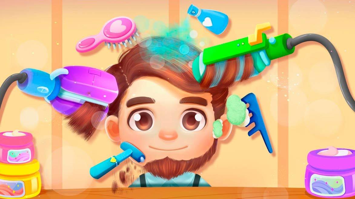 Картинки для игр парикмахерская
