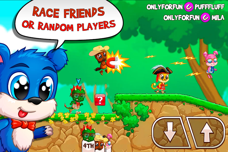 Скачать Fun Run 3: Arena - Бег Игры