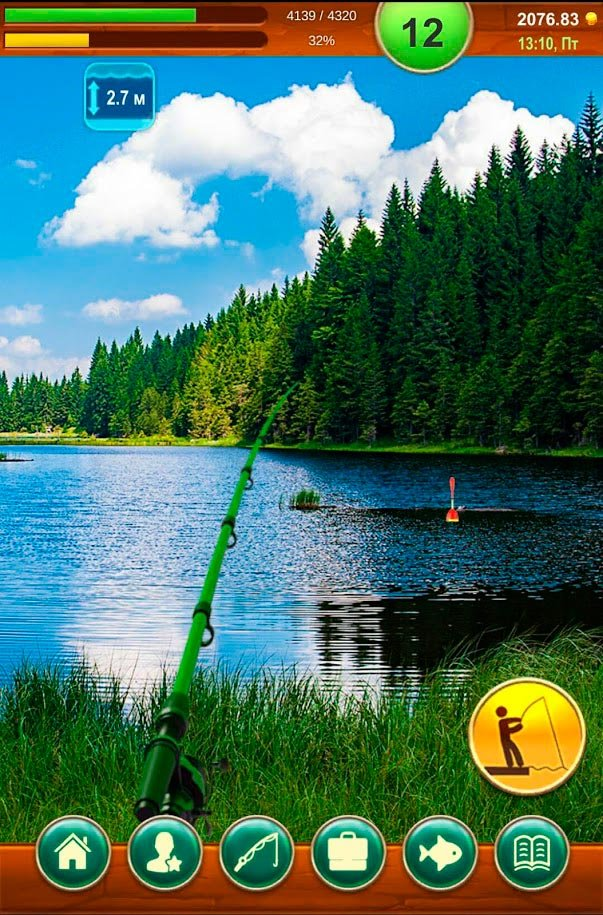 рыбалка на русском на андроид бесплатно