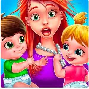 Скачать игру Первый день няни – Безумный денек с малышами ...