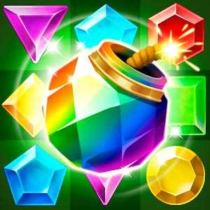 Jungle Gem Blast: Match 3 Jewel Crush Puzzles