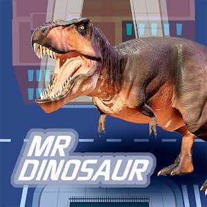 MR Dinosaur: Run and eat