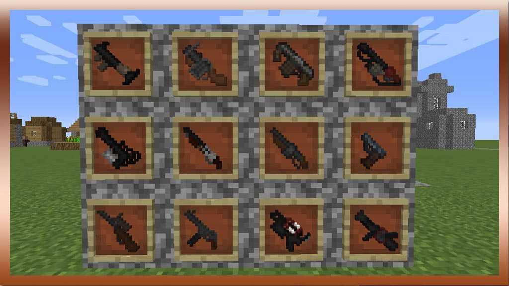 мод на майнкрафт 1.8.8 на оружие #9
