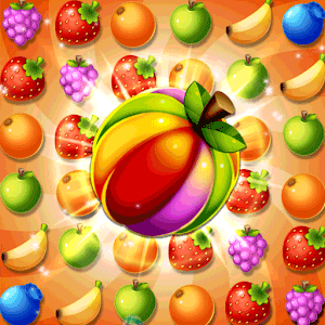 Sweet Fruit POP : Match 3 Puzzle