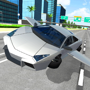 Flying Car City 3D