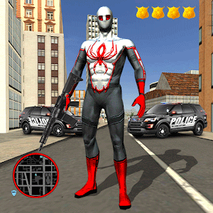 Ultimate Spider Rope Hero - Gangster Crime City