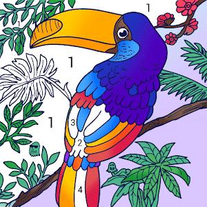 Скачать игру Color.ly - номерам Раскраски, цвет по номерам ...