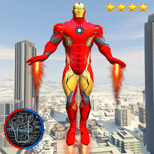 Super Iron Rope Hero - Fighting Gangstar Crime