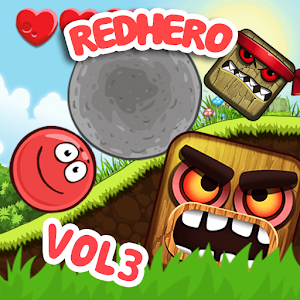 Red Hero 4: Ball Advenrture Vol3